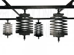 4 Pantographs Studio Lighting Support Rail System